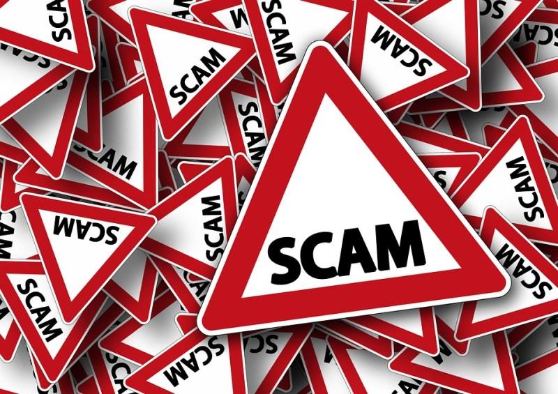 Scam fraud alert signs