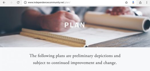 Independence CO MSD no HOA Plan subject to change