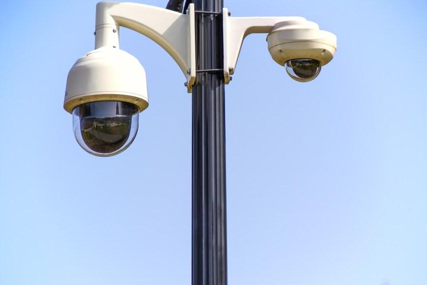 Security camera surveillance