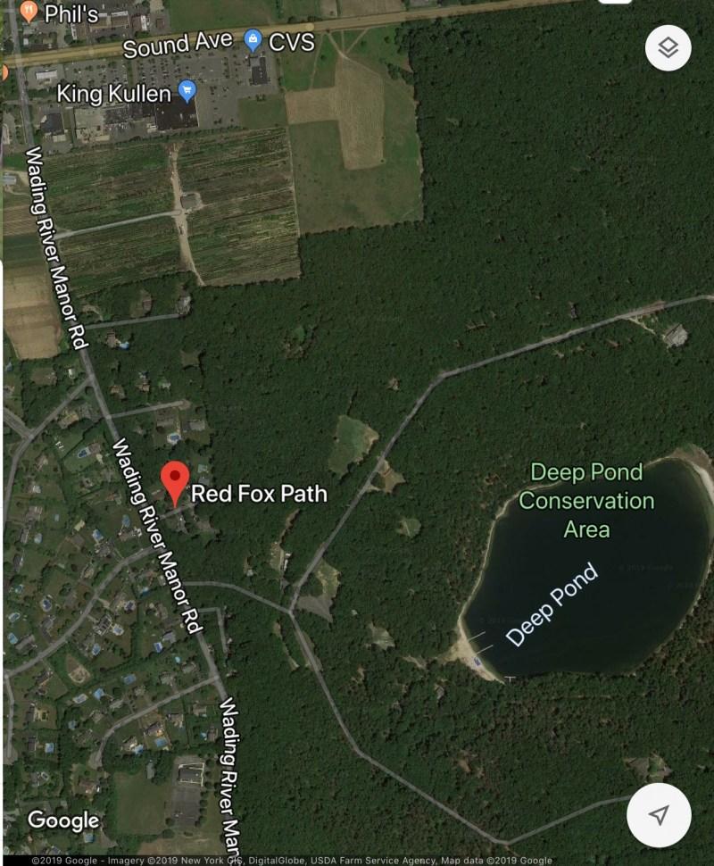 Red Fox Path Wading River NY Google Maps