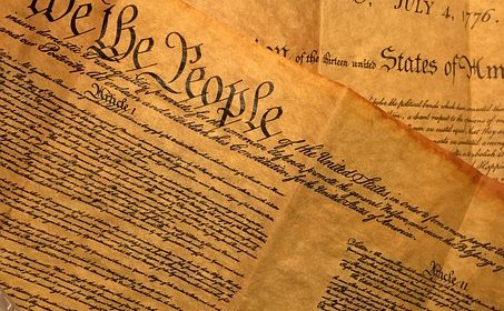 US Constitution We the People paper
