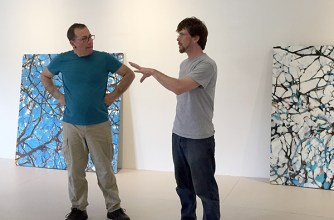 Daniel Kohn & Azariah Aker discuss various approaches to installation