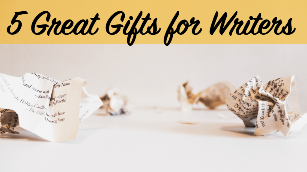 This blog post by Independent Book Review describes five great gifts for writers