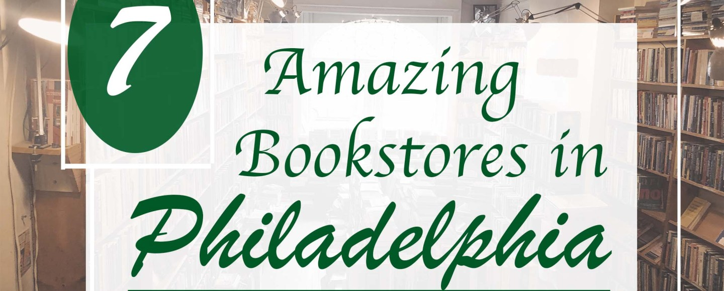 This is the featured photo for Jaylynn Korrell's article, 7 Amazing Bookstores in Philadelphia.