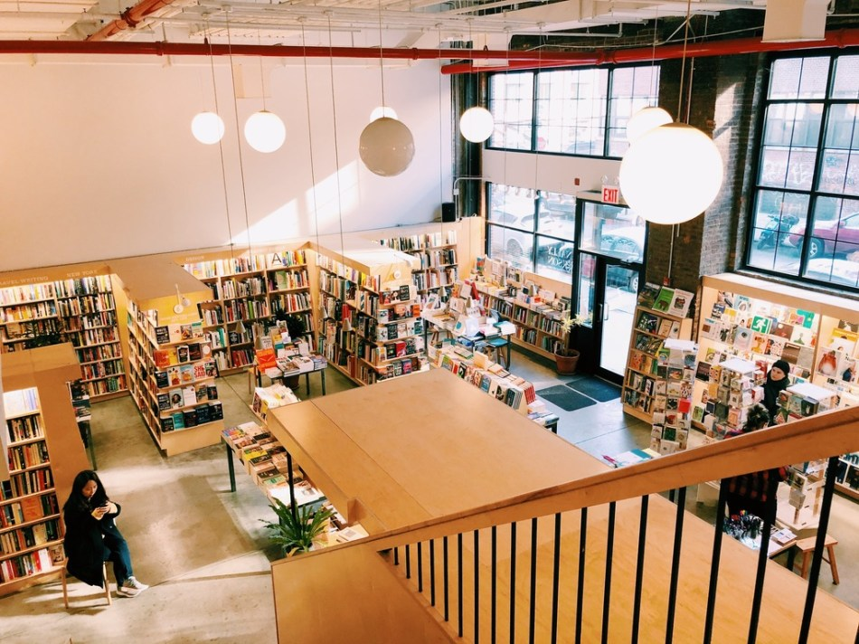 McNally Jackson bookstore on N 4th Street in Brooklyn NY