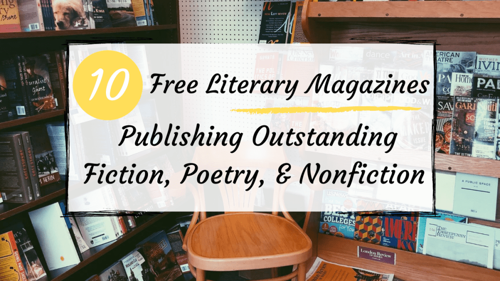 free literary magazines blog post