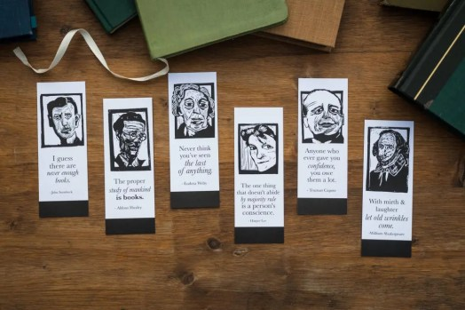 Bookmarks are great gifts for book lovers!