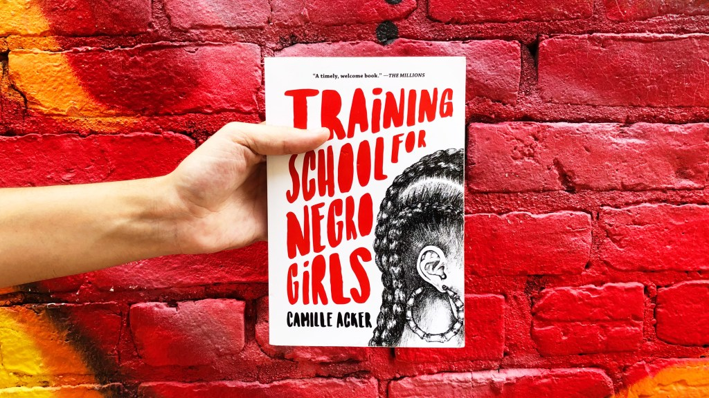 paperback photo of Training School for Negro Girls by Camille Acker
