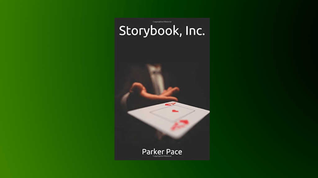 This is the featured photo for our book review of Storybook, Inc by Parker Pace