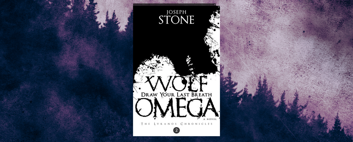 Featured image for Wolf Omega by Joseph Stone second book in the Lykanos Chronicles