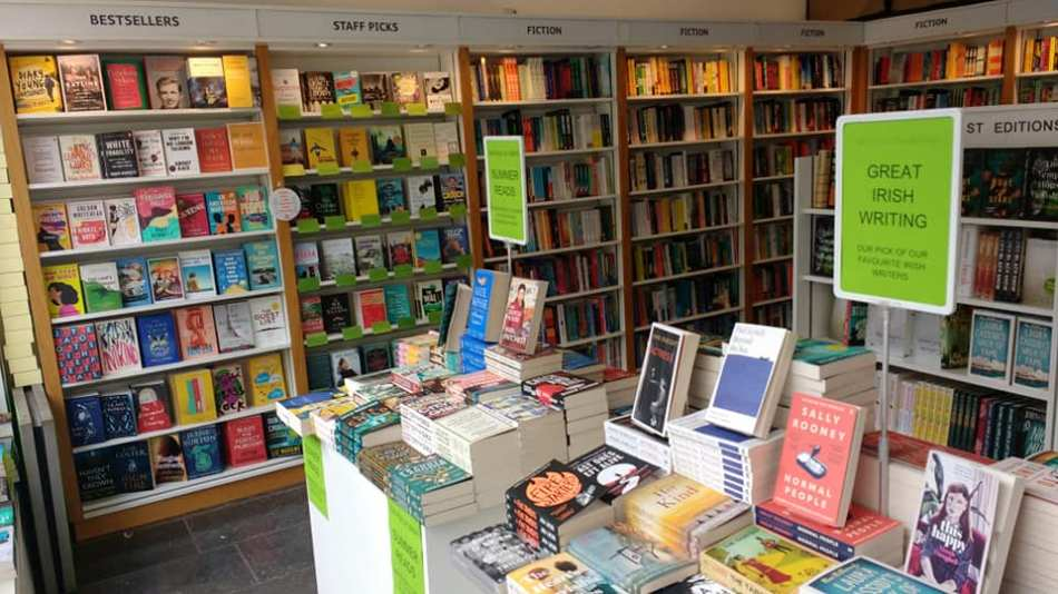 Gutter Bookshop in Dublin Ireland (from Facebook)