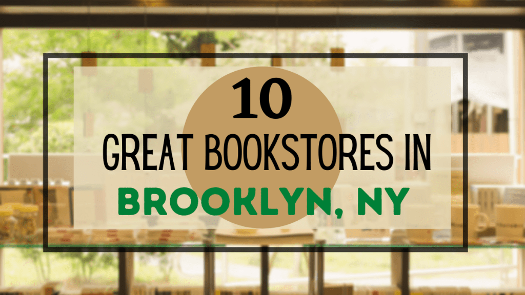 best bookstores in Brooklyn, NY