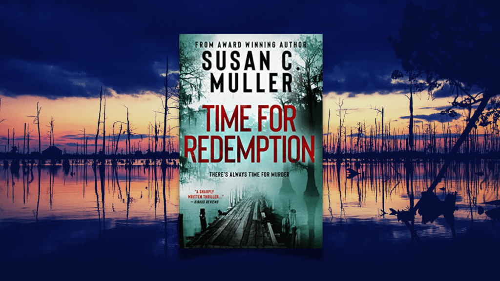 Time for Redemption featured photo for book review susan muller