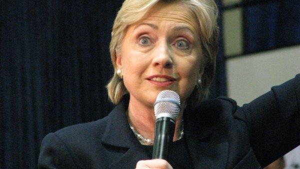 Hillary Loses It