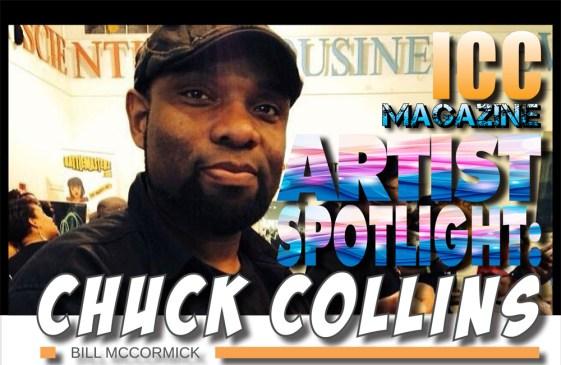 "Artist Spotlight: Chuck ""DragonBlack"" Collins"