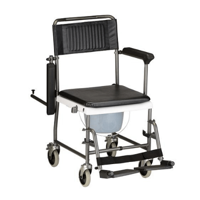 Transport Chair Commode  Independently Yours
