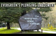 Evergreen State's Plunging Enrolment Numbers