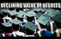 The Declining Value of a University Education