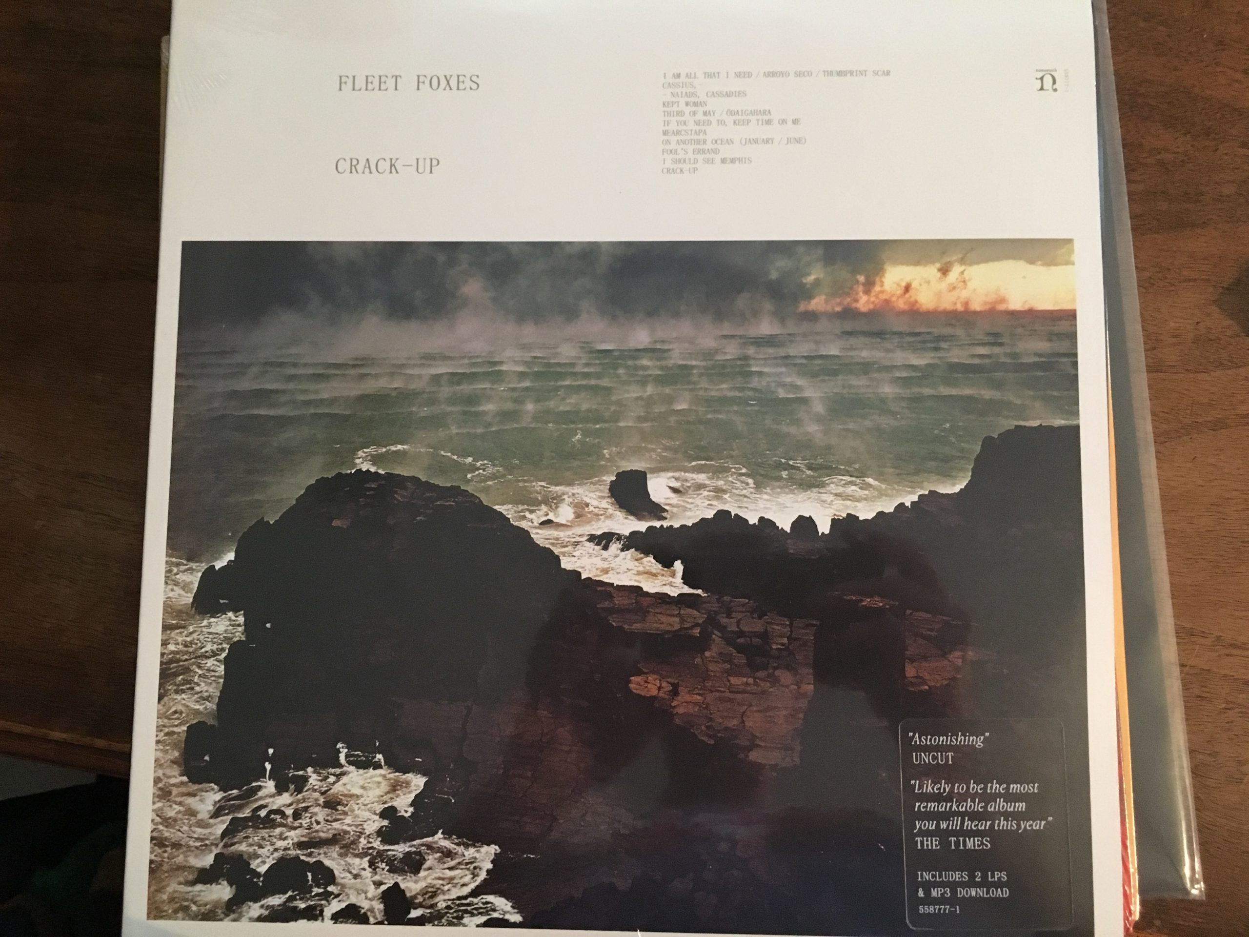Fleet Foxes - Crack-Up Album Cover
