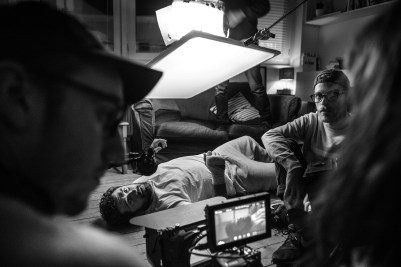 """On the set of """"Far Away"""""""