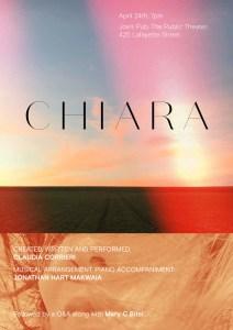 Chiara The Musical