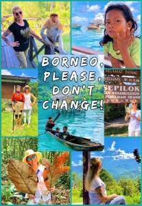 Borneo, Please Don't Change!