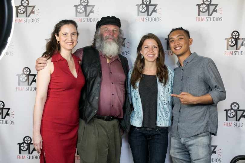 """Keith Biondi from """"The Ledge"""" at the Indie Short Fest premiere of his film in Burbank, CA"""
