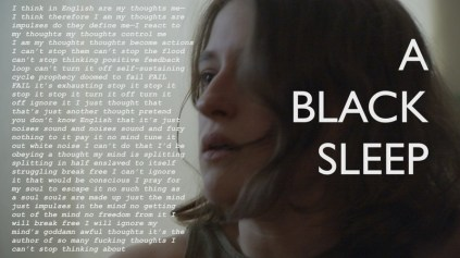 A Black Sleep