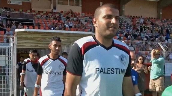 Gaza, One Football, One Leg