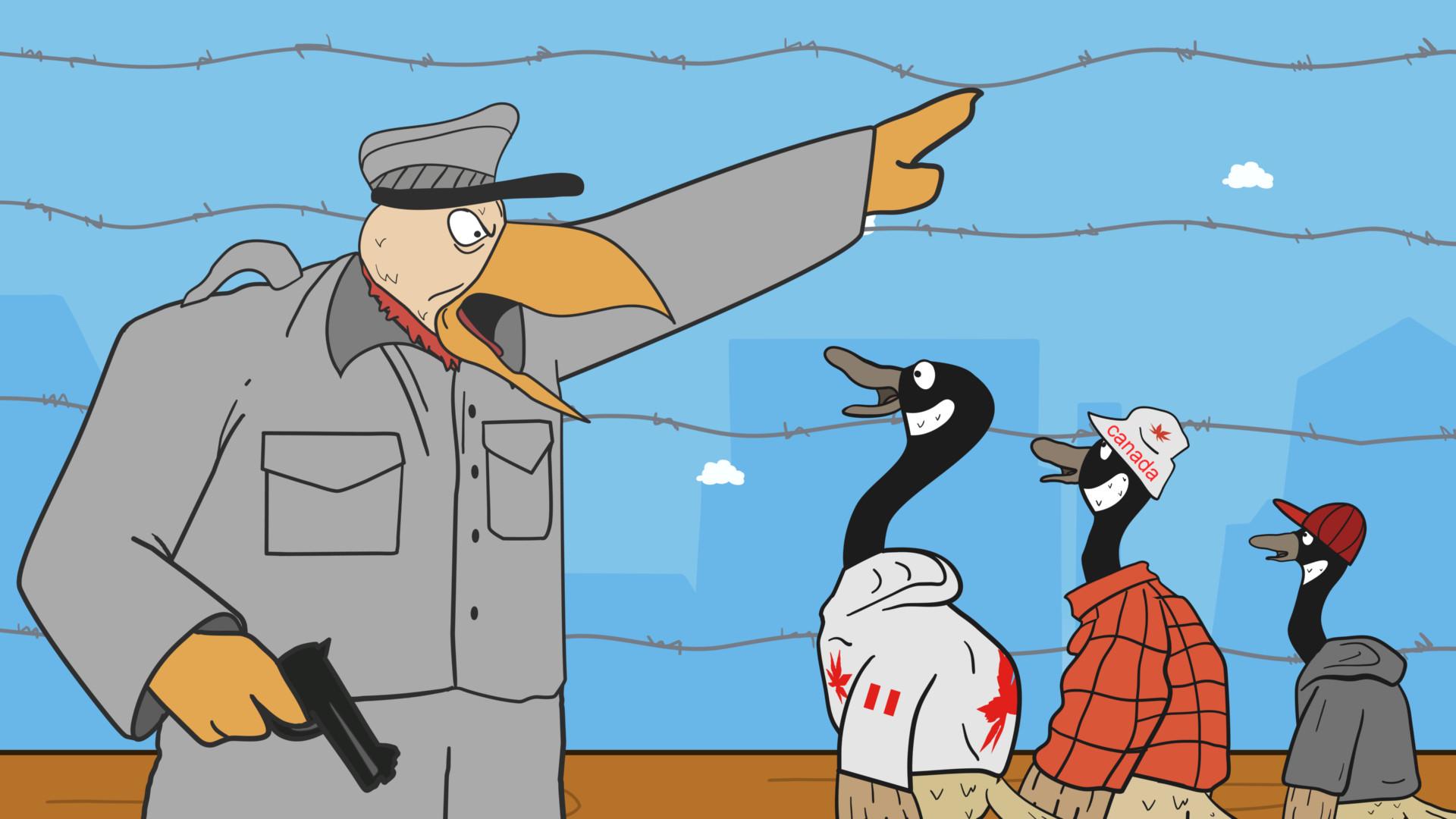 Fowl Crossing