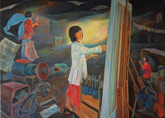 An Artist's Journey from China to America
