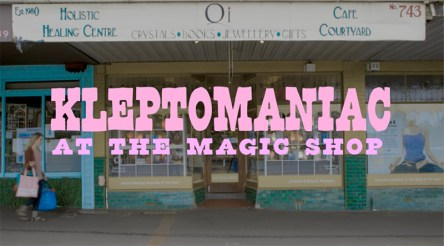 Kleptomaniac at the Magic Shop