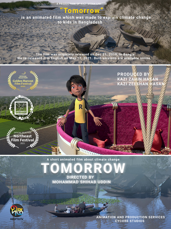 Tomorrow, an animated film about climate change