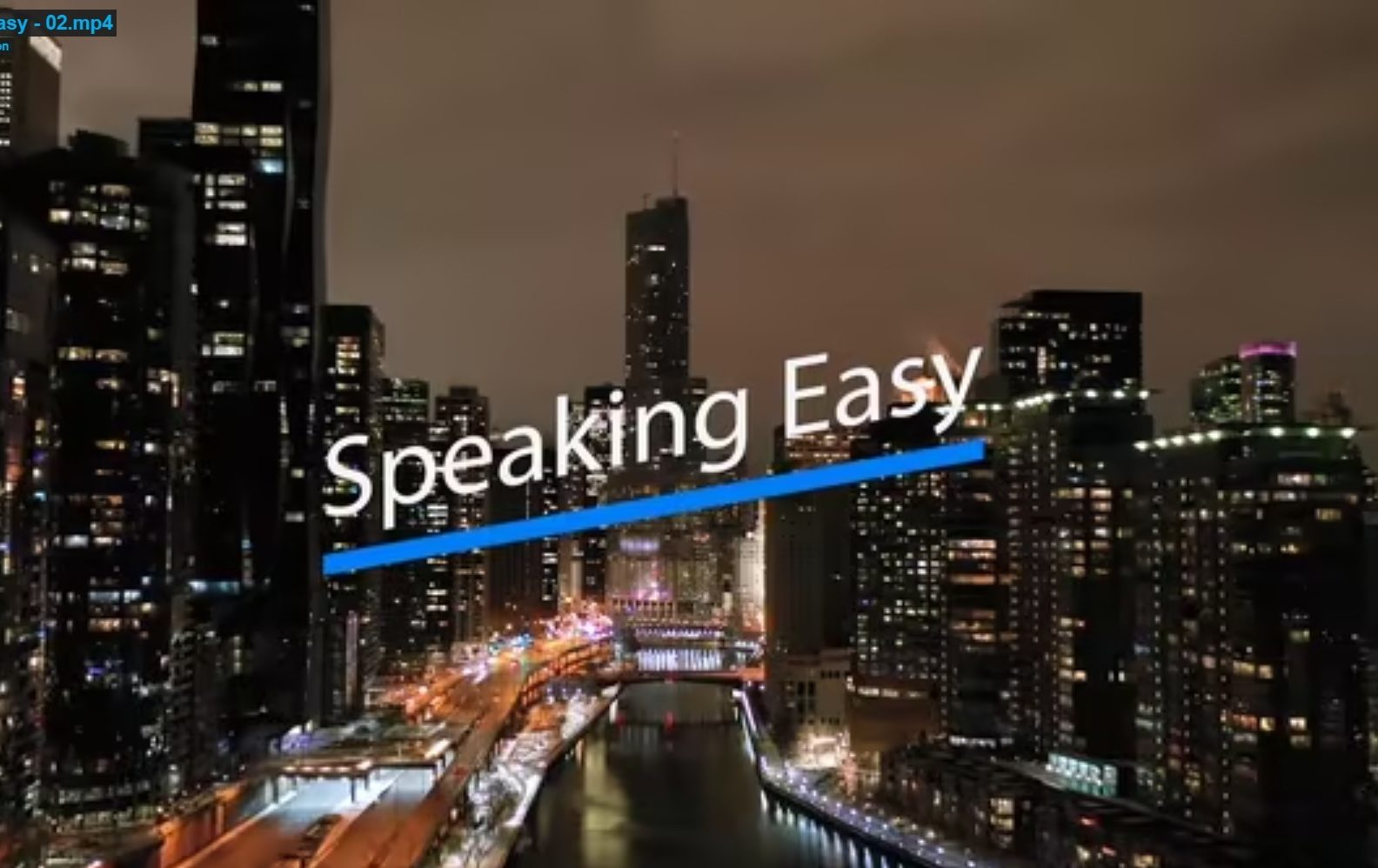Speaking Easy