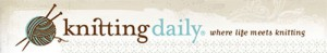Knitting Daily logo