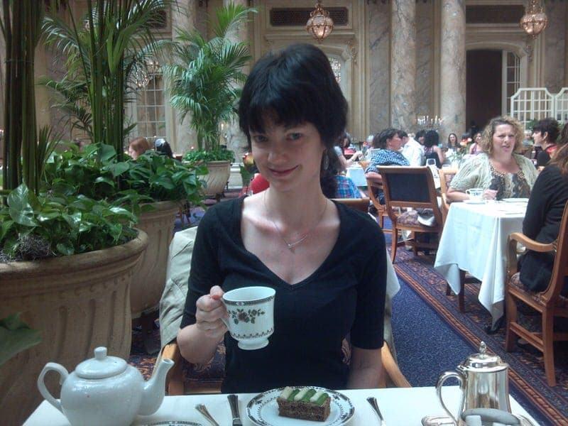Palace Hotel tea