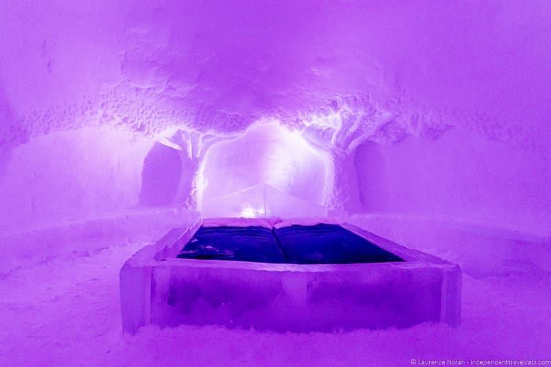 ice hotel in Finland