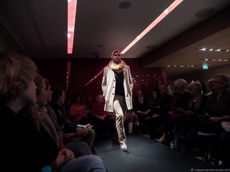 Galeries lafayette Free Fashion Show Paris male model