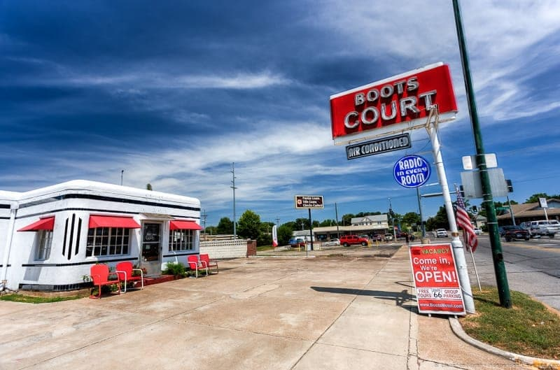 Boot Court Motel Missouri Route 66 road trip