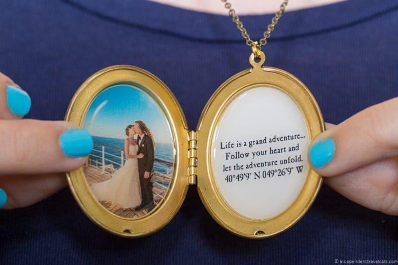 locket necklace travel jewelry traveling inspried jewellery