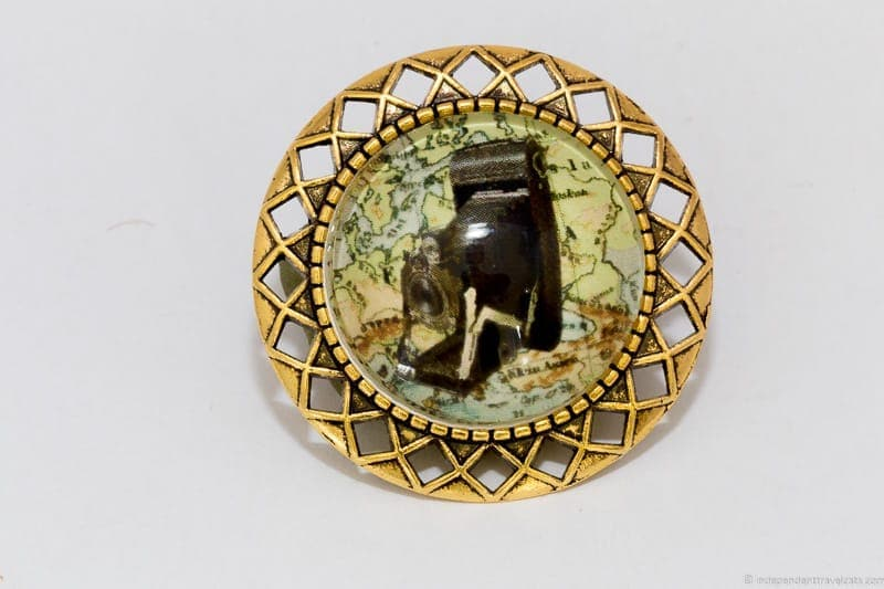 camera brooch travel jewelry traveling inspried jewellery