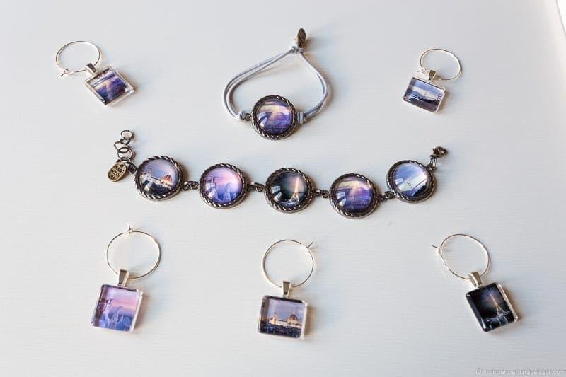 custom photo jewelry bracelets travel jewelry traveling inspried jewellery