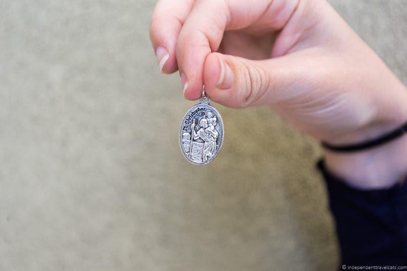 Saint Christopher travel jewelry traveling inspried jewellery