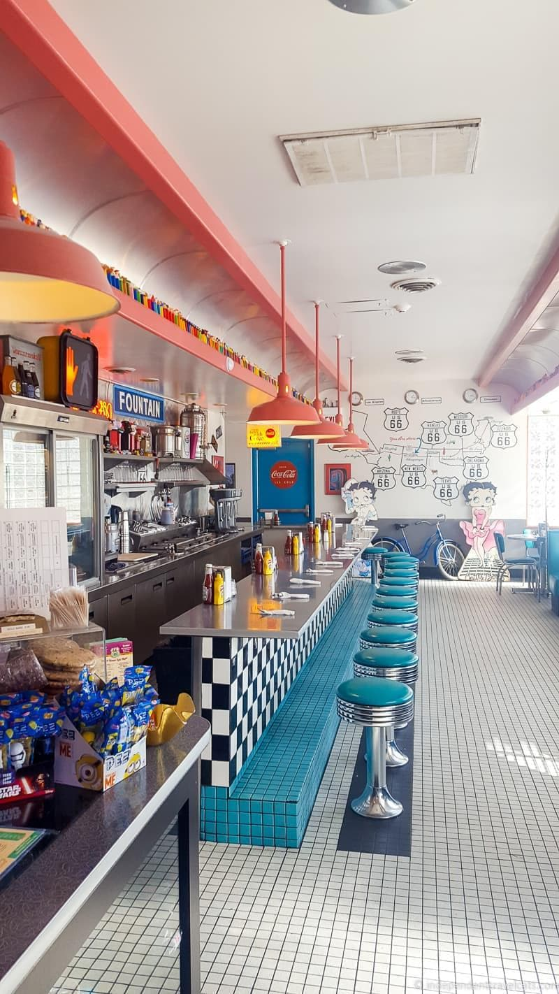 66 Diner Route 66 in Albuquerque New Mexico highlights