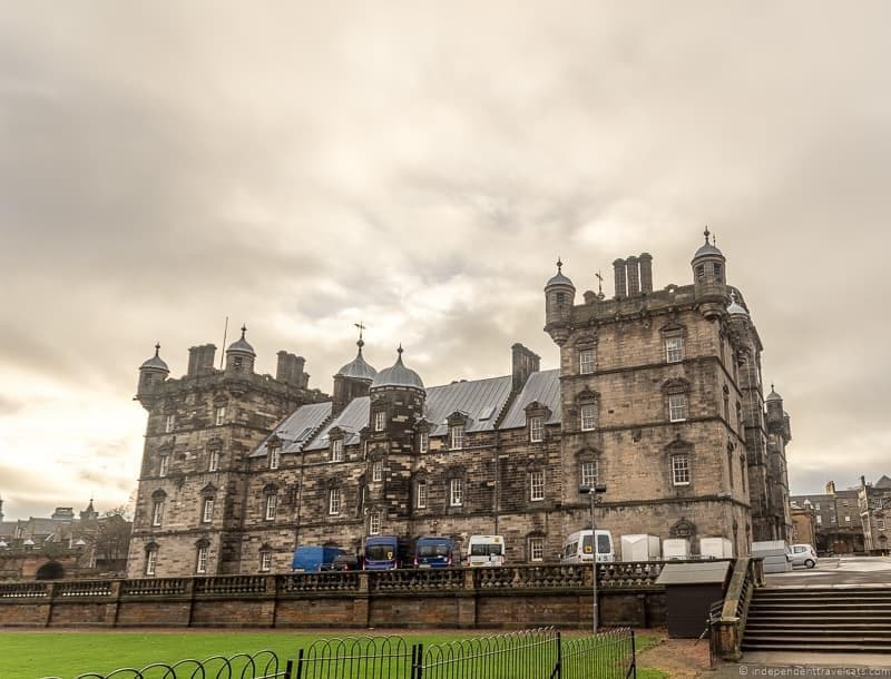 George Heriot's School Hogwarts Harry Potter sites in Edinburgh Scotland J.K. Rowling