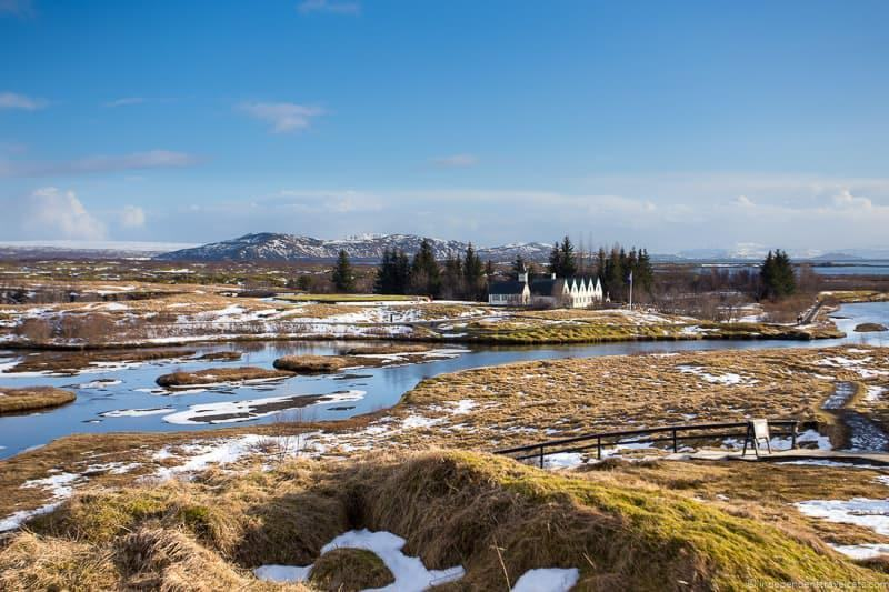 Þingvellir 7 day Iceland itinerary by car one week road trip