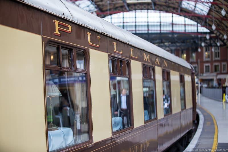 The Belmond British Pullman Train Info Tips  Lots of