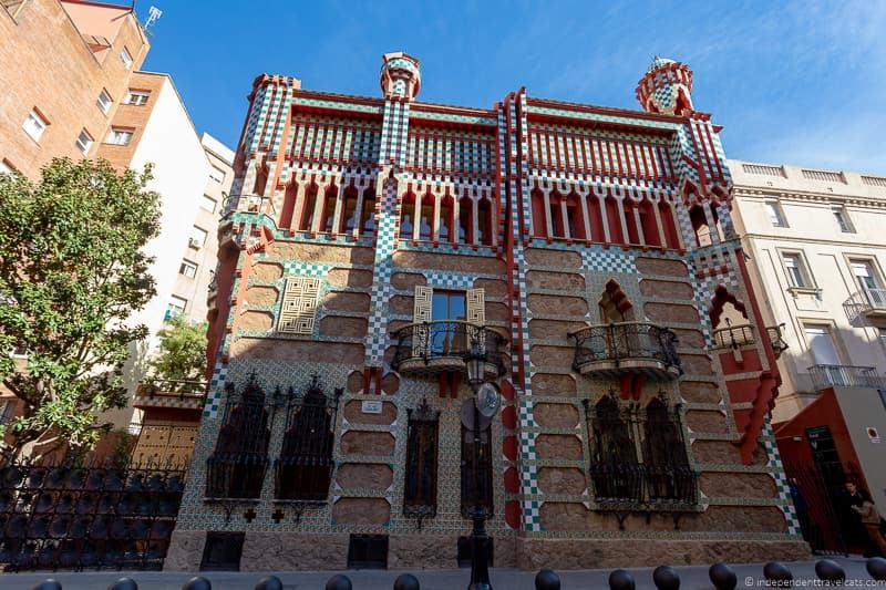 Casa Vicens guide to Gaudí sites in Barcelona Spain