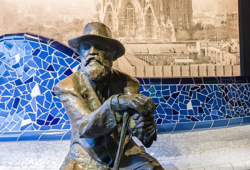 guide to Gaudí sites in Barcelona Spain