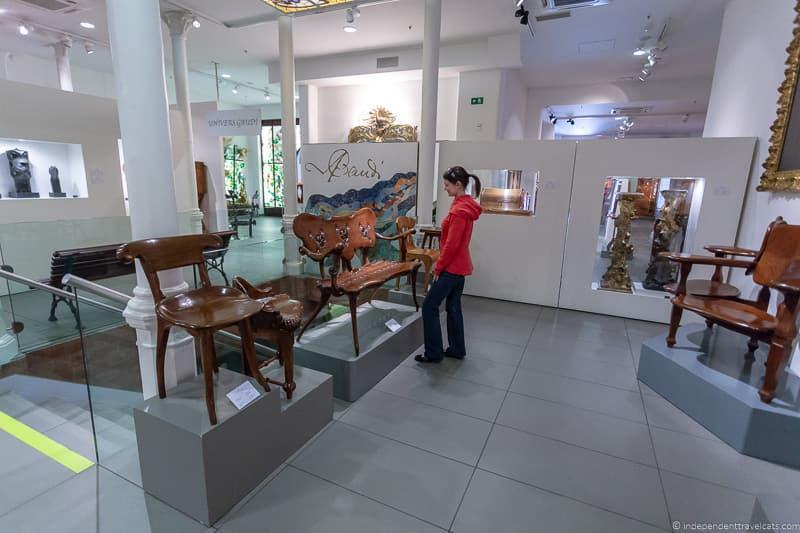 MuseudelModernismedeBarcelonaguide to Gaudí sites in Barcelona Spain